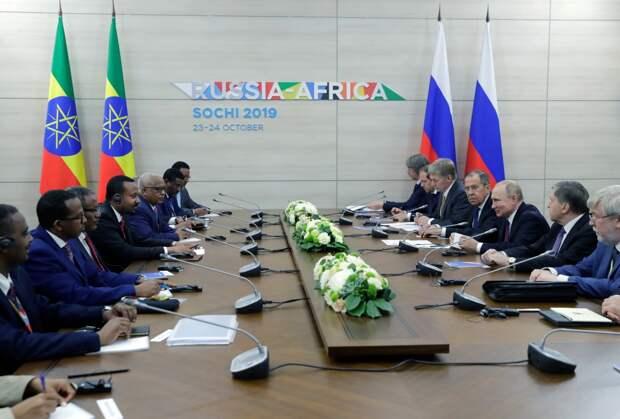 Египет, Эфиопия, Голубой Нил и роль России