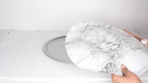 Эффектный столик — интерьерный штрих, созданный из доступных материалов