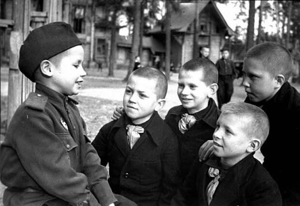 Война и дети. Фронтовой очерк