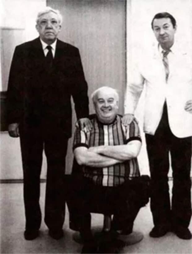Трус, Балбес, и Бывалый. Несколько интересных и редких фото
