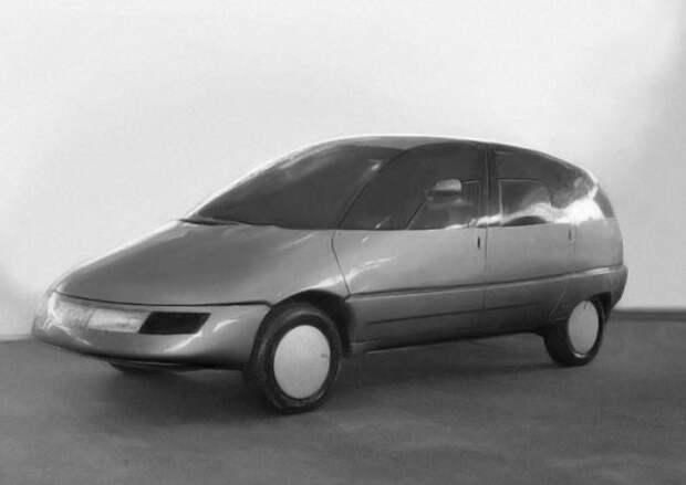 """НАМИ """"Охта"""". Проект """"Охта"""" разработали в ленинградском отделении НАМИ и построили один экземпляр в 1987 году. Это 7-местный автомобиль с потрясающей возможностью трансформации салона. СССР, авто, фото"""