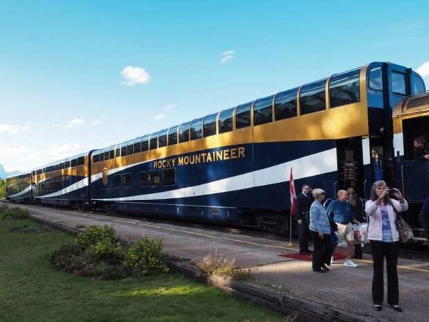 Символ роскоши на рельсах Канады. /Фото: thepalaceonwheels.org