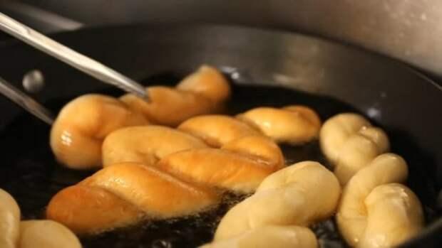 Закрученные корейские пончики: сведут с ума каждого, кто их пробует