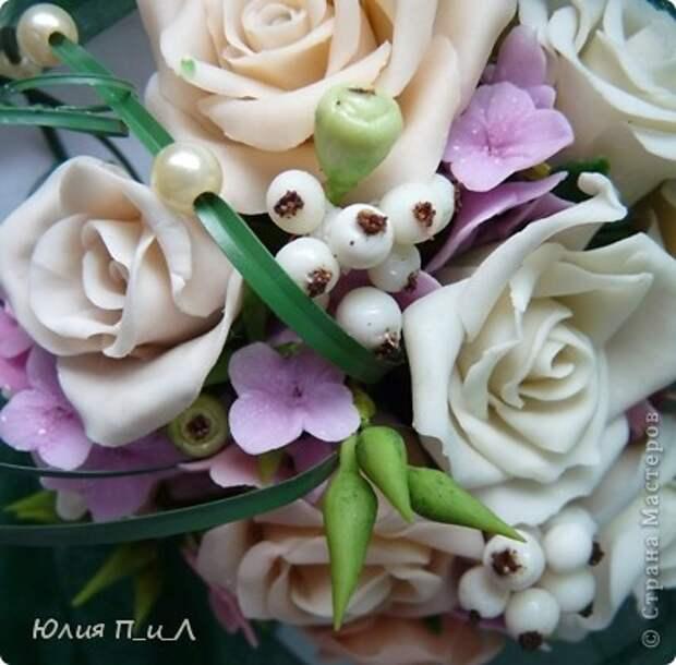 Мастер-класс,  Лепка, : Розовые «секреты» и не только…МК Фарфор холодный День рождения, . Фото 5