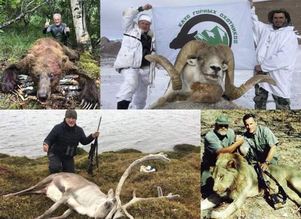 Пресс-секретарь Ельцина — убийца  животных