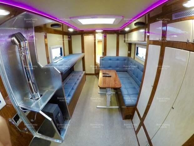 Русский дом на колесах Премиум класса на базе КАМАЗ-43118 авто, автодом, грузовики, камаз