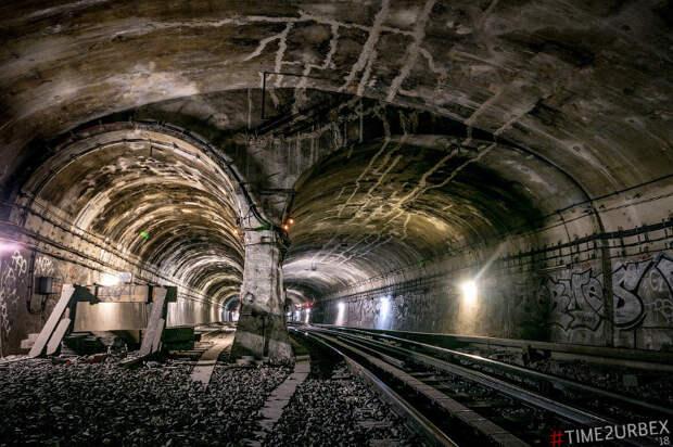 Заброшенные станции метро в Париже