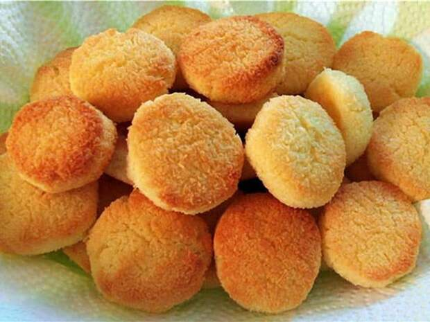Домашнее печенье на сковороде