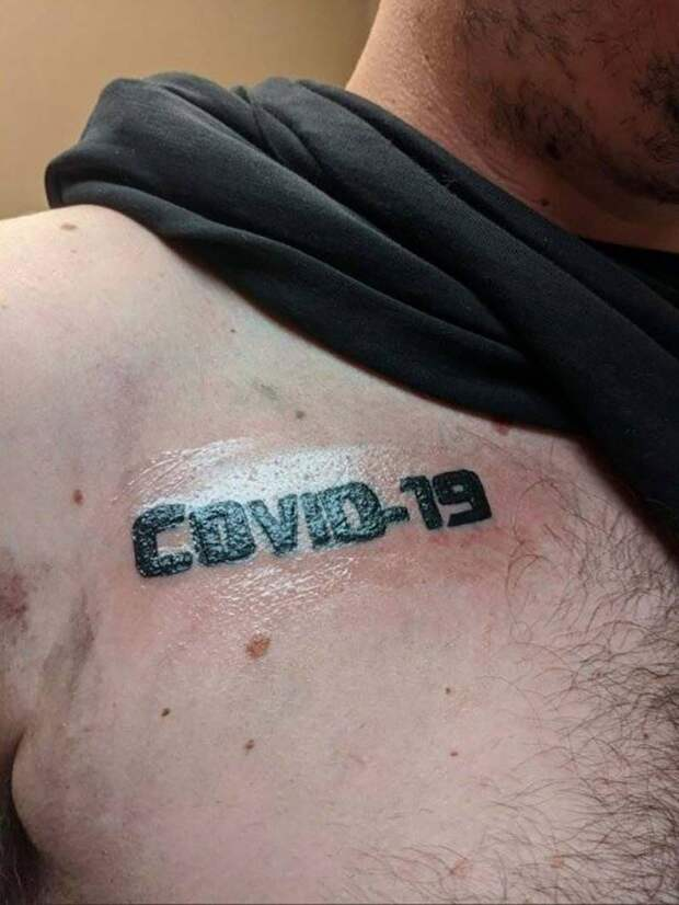 18 татуировок, посвященных новому вирусу COVID-19
