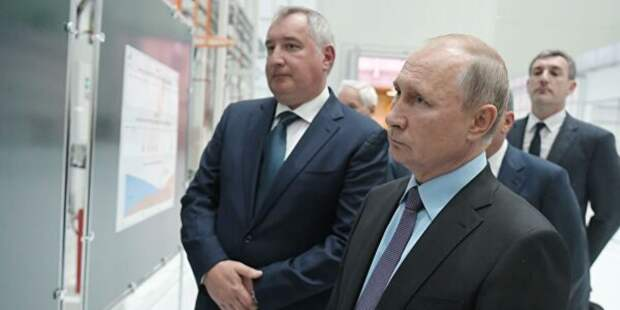 Рогозин рассказал Путину об успехах
