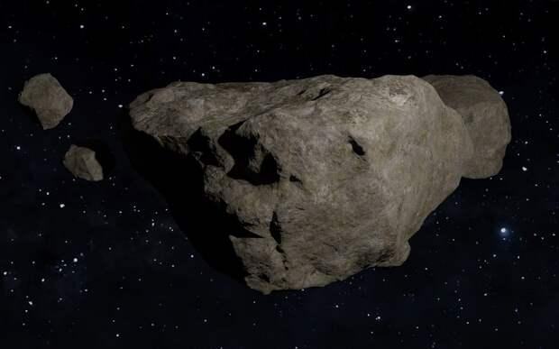Мимо Земли пролетел астероид размером с самолёт