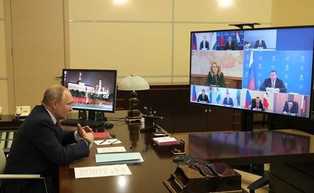 Путин объявил о создании фонда помощи больным детям на налог с высоких доходов