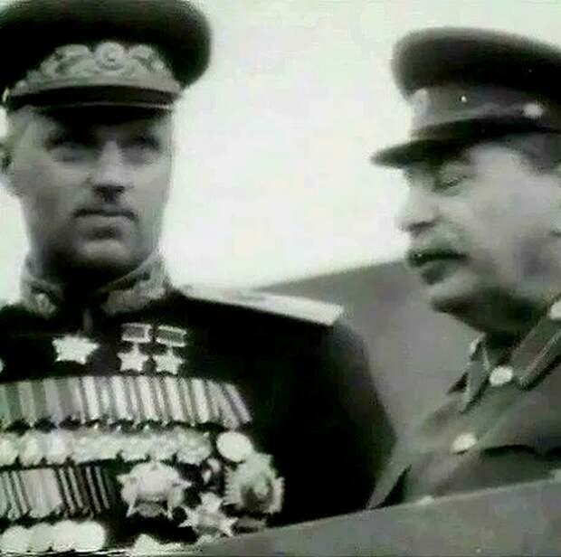 Как Сталин шутил про Рокоссовского