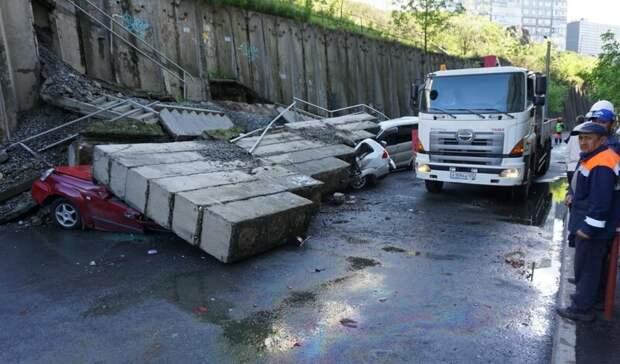 Третья беда Владивостока: что происходит с подпорными стенами