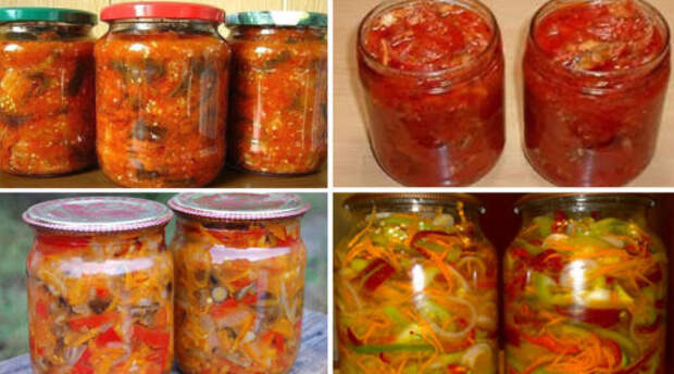 14 овощных салатов на зиму. Сохраните эти рецепты!