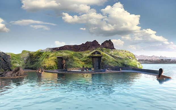 В следующем году Исландия открывает эту роскошную лагуну с баром и невероятным видом