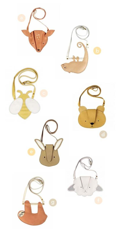 Микро-сумки зверушки для детей
