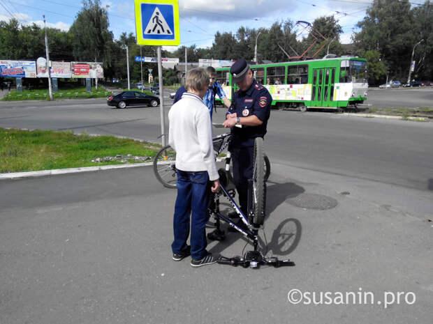 Полиция в Ижевске: как обезопасить велосипед от угона