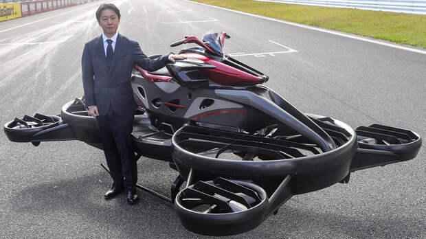 В Японии начат прием заказов на «летающий мотоцикл» Xturismo