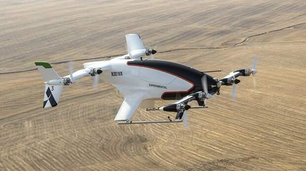 Летные испытания аппарата AirbusVahana