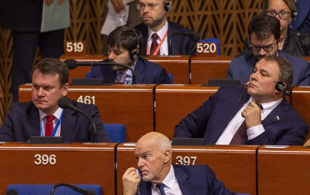 Зимняя сессия ПАСЕ началась с унижения Прибалтики и Украины
