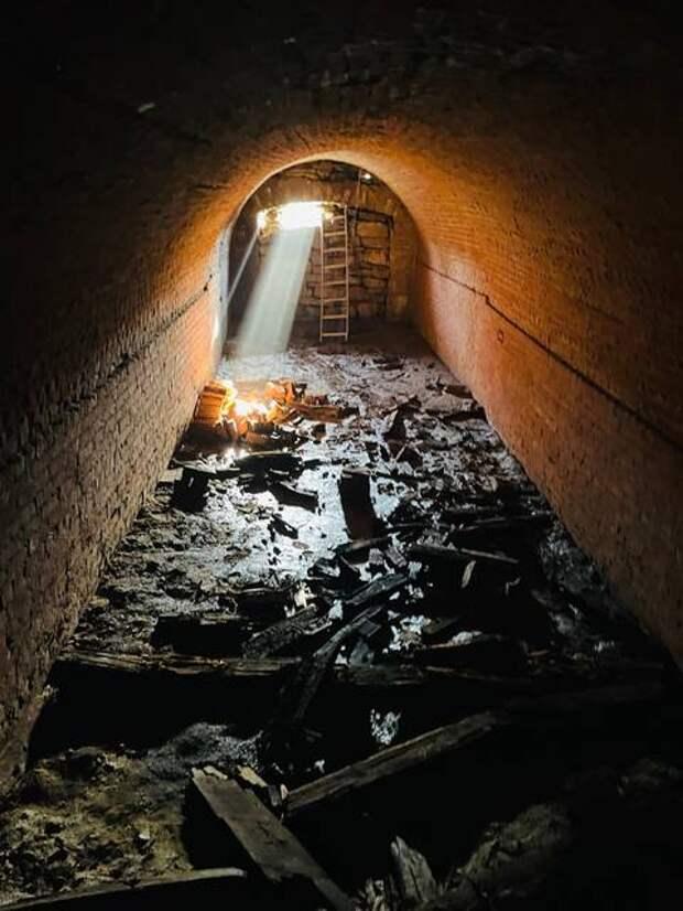 В США обнаружен допотопный тоннель времен Чингачгука
