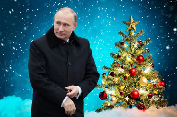 Антинародная политика Путина привела к тому, что под его новогодним поздравлением приходится отключать комментарии