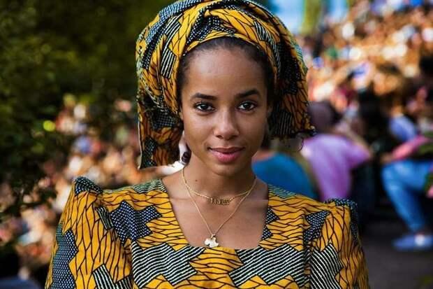 Дочь француза и малийки (Африка)