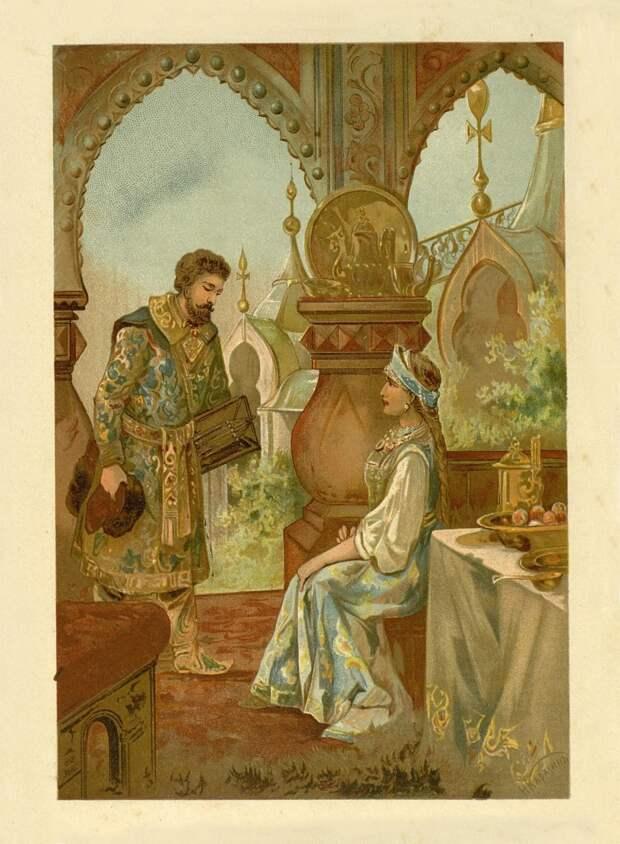 Русские богатыри в иллюстрациях 1912 год.