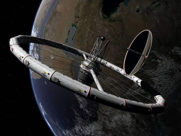 Проект космической станции Вернера фон Брауна