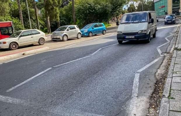 Что за загадочная разметка на Мальте, которую не увидеть на дорогах России
