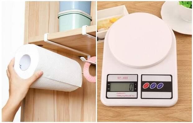 Весы останутся чистыми, если перед взвешиванием продуктов, вы накроете их полотенцем