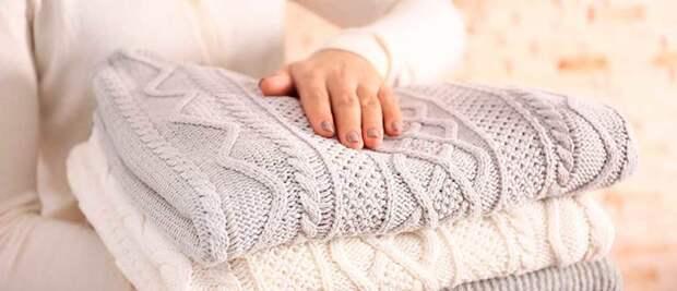 Как правильно стирать и сушить вязанные вещи