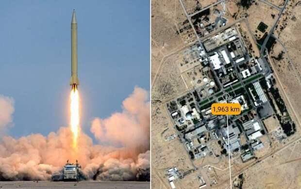 Неизвестная сторона запустила по саудитам ракеты с дальностью действия 2000 км