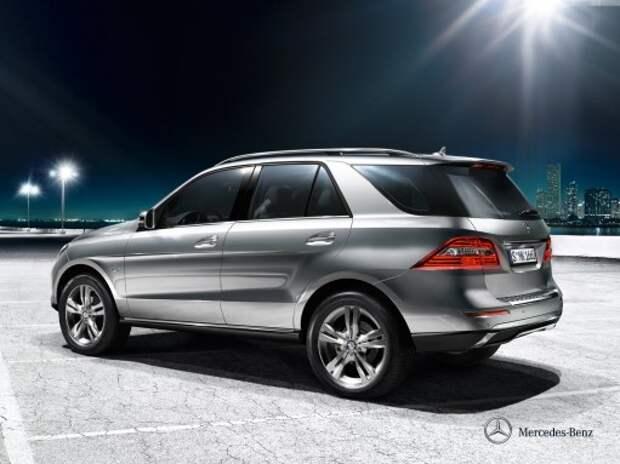 Mercedes переименует M-класс в GLE