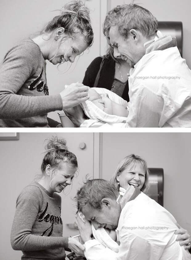 20 трогательных фотографий отцов, которые впервые видят своего ребёнка отец, позитив, фото