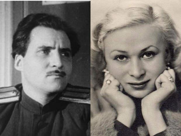 Константин Симонов и Валентина Серова - большое счастье и большое горе