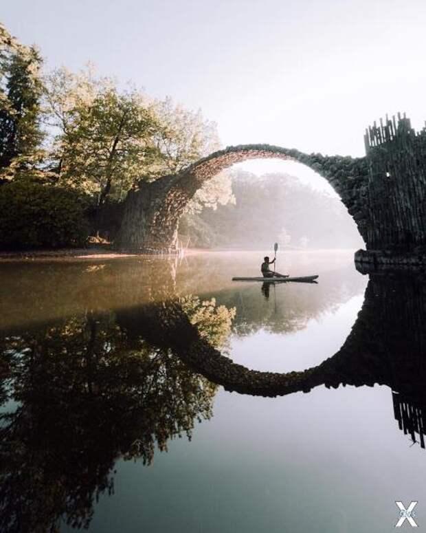 Ракоцбрюке: тайная история, скрывающаяся за иллюзорным мостом в Кромлау
