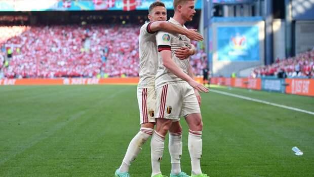 Бельгия стала второй сборной, которая вышла вплей-офф Евро-2020