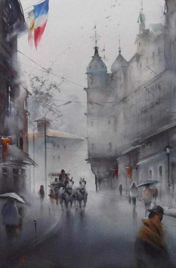 художник Илья Ибряев картины - 21