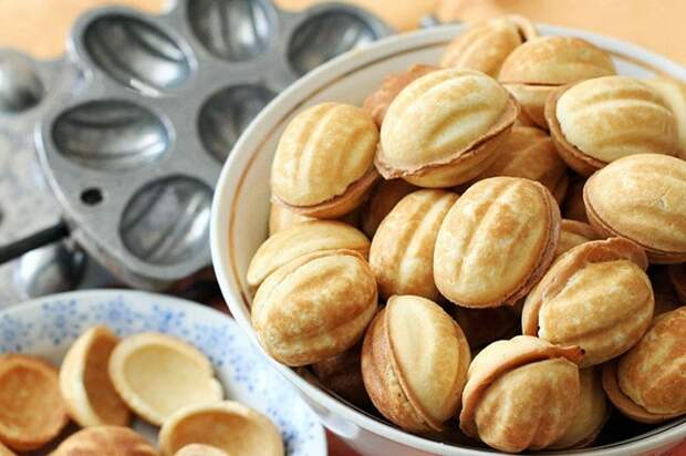 Десерт готовился в специальной орешнице. / Фото: food-advisor.org