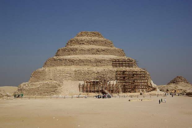 Ступенчатая пирамида Джосера, Древний Египет
