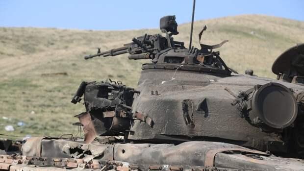Колонна элитного спецназа Азербайджана уничтожена в Карабахе