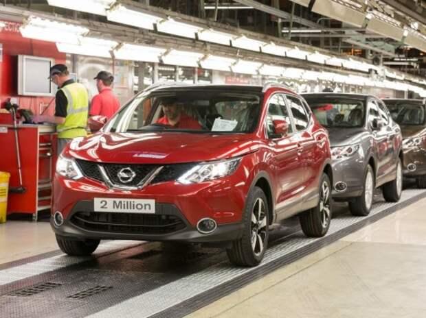 В Англии произвели двухмиллионный Nissan Qashqai