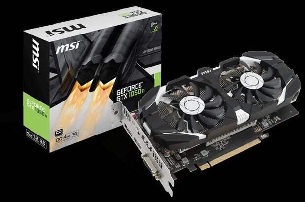 Компания NVIDIA возобновляет продажу видеокарт GTX 1050 Ti