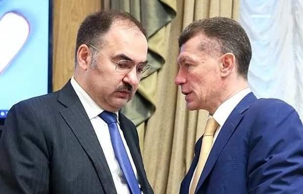 Антон Дроздов - глава ПФР и Максим Топилин - Министр труда