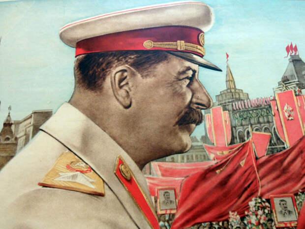 Иосиф Сталин и Маргарита Симоньян