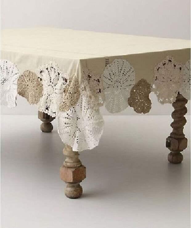 Подборка вдохновляющих идей для декорирования: как украсить обычные вещи кружевной салфеткой