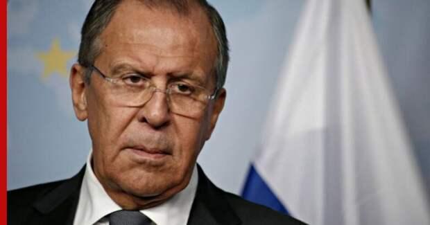 Лавров предостерег США от вмешательства в дела Белоруссии