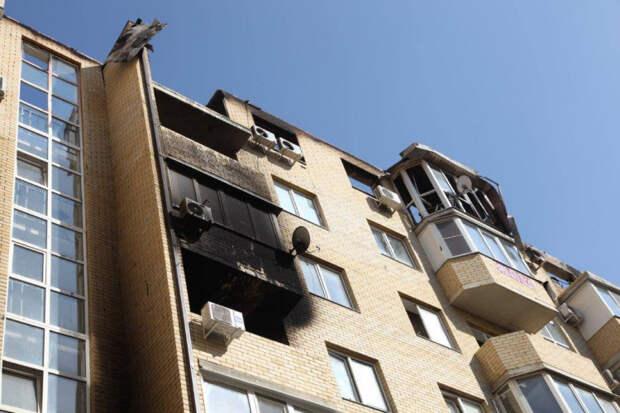 Завершено дело о пожаре в многоэтажке Музыкального микрорайона
